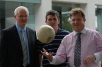 Gerard Lane, Denis Hurley & Shay Livingstone