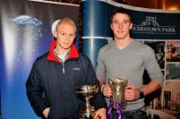 JF Captain Carthach Keane and U21F Captain Aidan Walsh