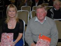 Tracey Kennedy & Denis Barry at Strategic Plan Launch