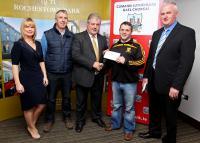 2014 League Cheque Presentations