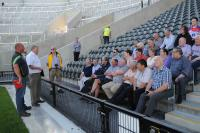 Stewards visiting the new Pairc Ui Chaoimh