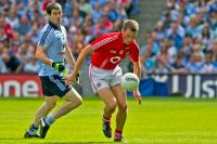Paddy Kelly in action  v Dublin.