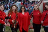 Carrigaline Scor and Karen Long at Cork v Dublin