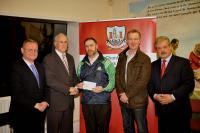 Munster Council Grants Presentation: Valley Rovers