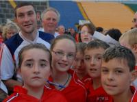 Noel O'Leary and Fans at Training