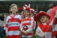 Young Courcey Rovers Fans at County Final