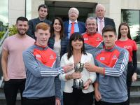 Rebel Og Award Sept -17 - Cork Minor Hurlers