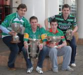 Four Champions at Championship Launch