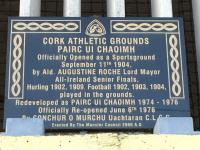 Cork Athletic Grounds Opened 1904