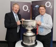 Micheal O Muircheartaigh & Shay Livingston at Footballers' Lunch