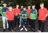 Rebel Og Awards Sept 18 - Mayfield  U15 Footballers & St Vincent  U15 Hurlers