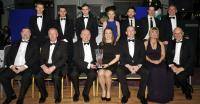 Rena Buckley winner of the Muskerry GAA/Auld Triangle Sports Star of the Year Award 2015