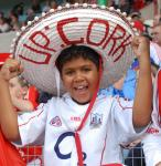A Young Cork supporter