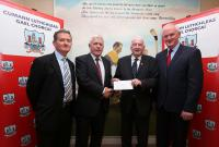 Munster Council Grant 2016 - Sarsfields