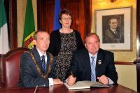 Liam O Neill Visits Cork