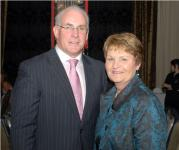 Munster Council Chairman Sean Walsh & his wife Patricia at Medal Dinner
