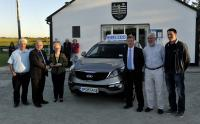 Bridget Barrett Donoughmore won the Grand Prix - The KIA Sportage - in the March Cork GAA Clubs Draw