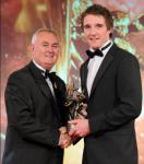 Aidan Walsh, Young Footballer of the Year, with Christy Cooney