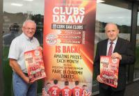 Launch of Cork GAA Club's Draw 2018/19