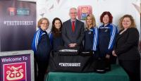 AIB Cork hosts Sarsfields camogie county champions 2014