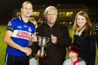 Gavin O'Loughlin, Jerry O'Sullivan & Fiona Darcy (RedFM CEO) with Conroy Cup