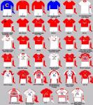 Cork Jerseys Through the years
