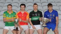 Co. Senior & Premier Intermediate Football Finalist Captains 2017