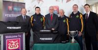AIB Cork hosts Millstreet county J.F. champions 2014