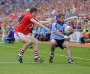 Ray Carey in action v Dublin