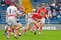 Action from Cork V Waterford