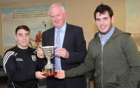 Presentation of the Mick Dolan Cup to the County Board by Dolan Family