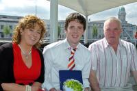 Seán Kiely Receives Boardwalk Award