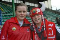 Aghada girls at Kerry v Cork in Tralee