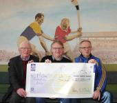 Cork GAA Clubs Draw 16/17 - Dec winner 1st Prize Michael Punch Grenagh GAA