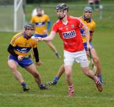Look see.. Cork v Clare Waterford Crystal Cup Action