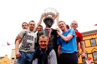 Sam Maguire with his namesake!