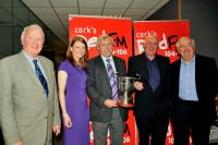 RedFM SHL Presentations: Winners Sars with the Conroy Cup