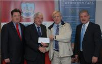 League Cheque Presentations - Argideen Rangers