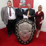 League Cheque Presentations 2012