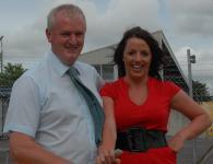 Gerard Lane & Sarah O Donovan at Hurlers Press Evening