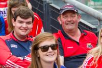 Cork supporters at the All-Ireland Hurling S-Finals 2017
