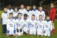 Pupils from Holy Cross School, Mahon at Pairc Ui Rinn