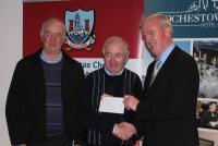 League Cheques Presentation - Tracton