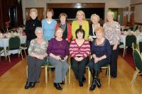 Nemo Rangers ladies who were on duty at the Referees function