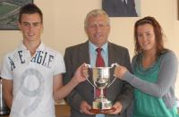 Co Chairman with Sean O Crualaoi cup