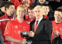 Charleville Captain Daniel O Flynn Accepts Munster Cup