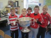 Sam Maguire on School Visits!