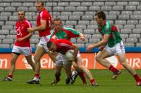 Noel O Leary in action V Mayo
