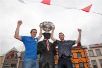 Canty & Murphy with Sam in Dunmanway!