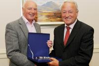 Denis Coughlan Congratulates Ml Ellard